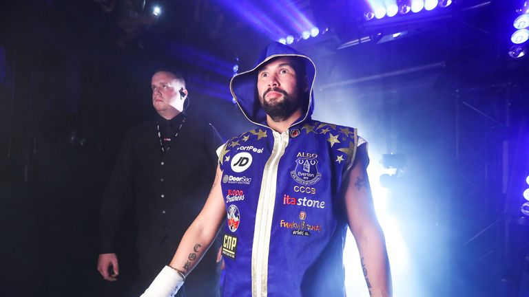 Tony Bellew starred in Creed as 'Pretty' Ricky Conlan alongside Jordan