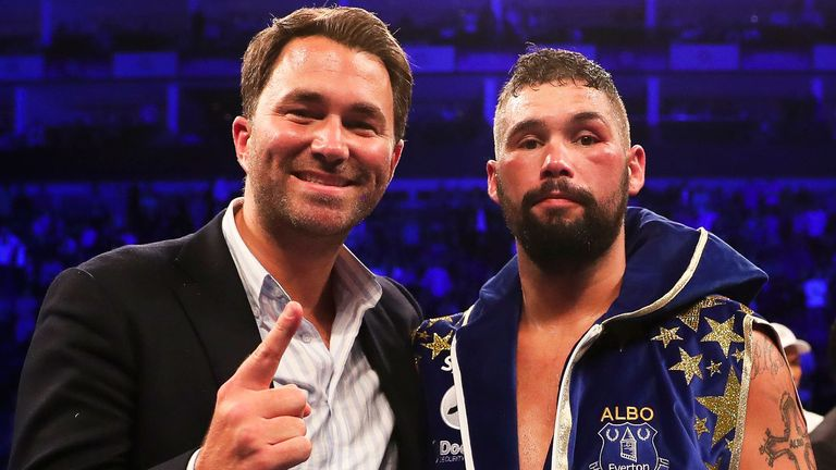 Tony Bellew, Eddie Hearn