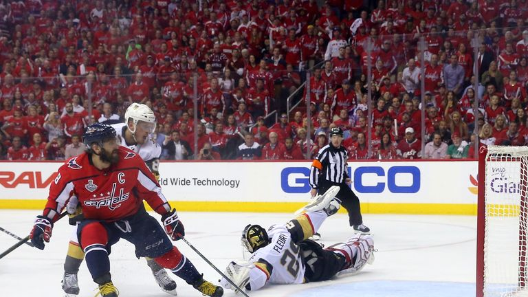 The Washington Capitals took a 3-1 lead in the seven game series
