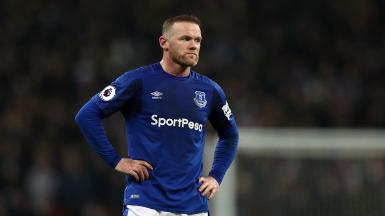 Wayne Rooney left Everton for th second time in June, 2018