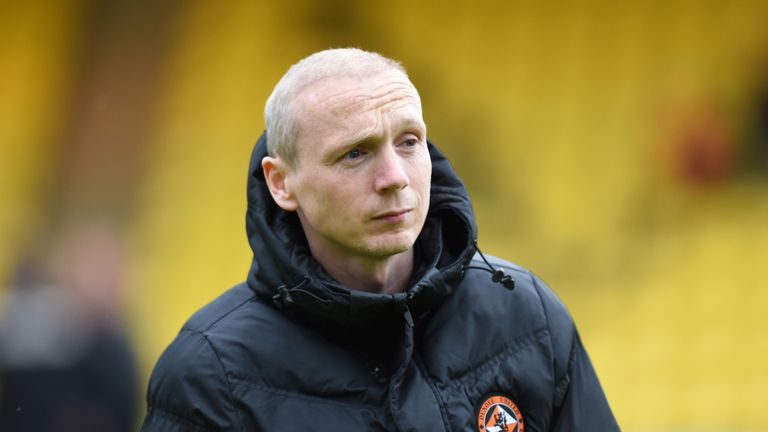 Willo Flood only began training with Dunfermline last week
