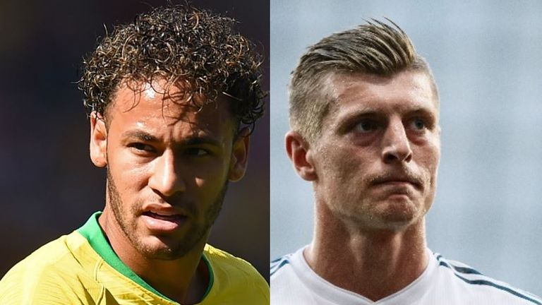 Sky Sports readers mapped out the road to Moscow, with Germany facing Brazil in the World Cup final - but who was voted the winner?