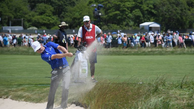 Zach Johnson accused the USGA of losing control of the golf course