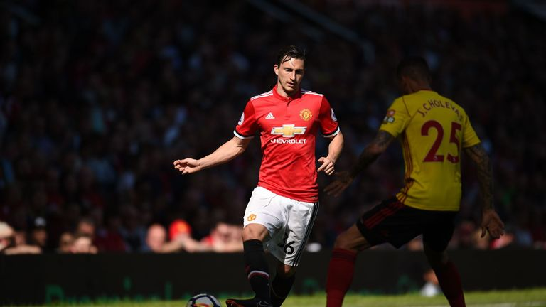 Matteo Darmian, who competed for Valencia, has been associated with a change