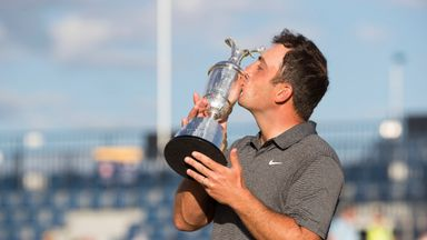 Francesco Molinari triumphed in The Open this year at Carnoustie