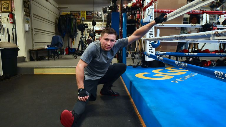 GGG is currently training at The Summit to rematch Canelo