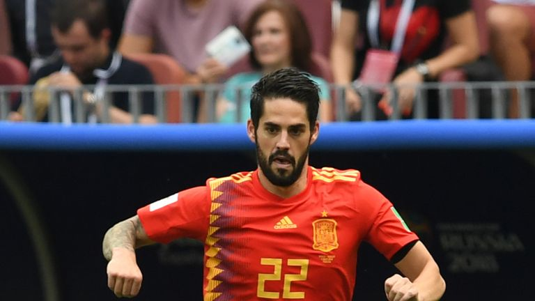 Isco threatened to dominate early on but could not finish off Russia