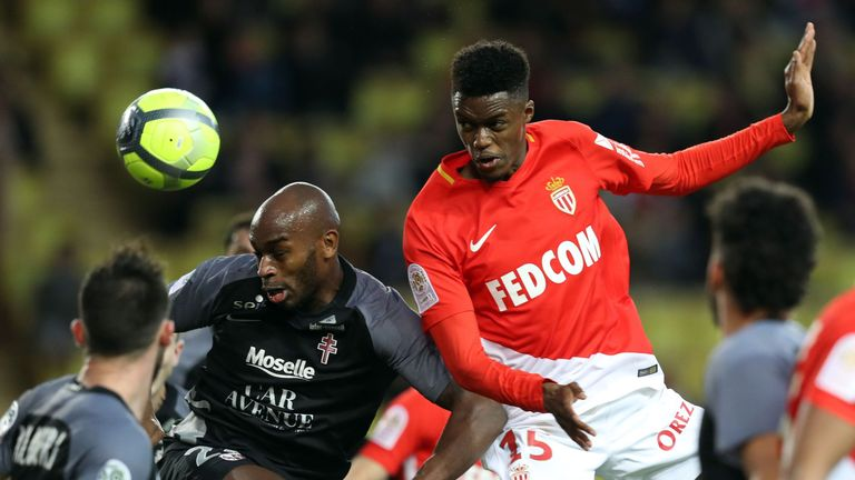 Adama Diakhaby scored four goals in 25 appearances for Rennes