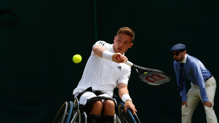 Hewett will next face defending champion Stefan Olsson in the last four (picture courtesy of Anna Vasalaki)