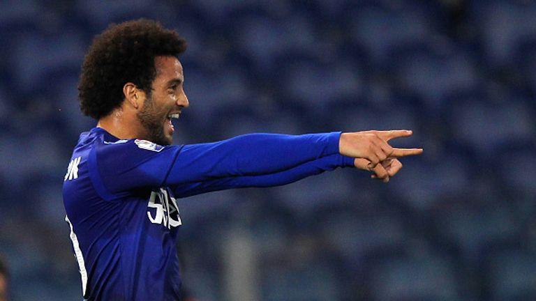 Felipe Anderson scored 34 goals in 177 appearances for Lazio