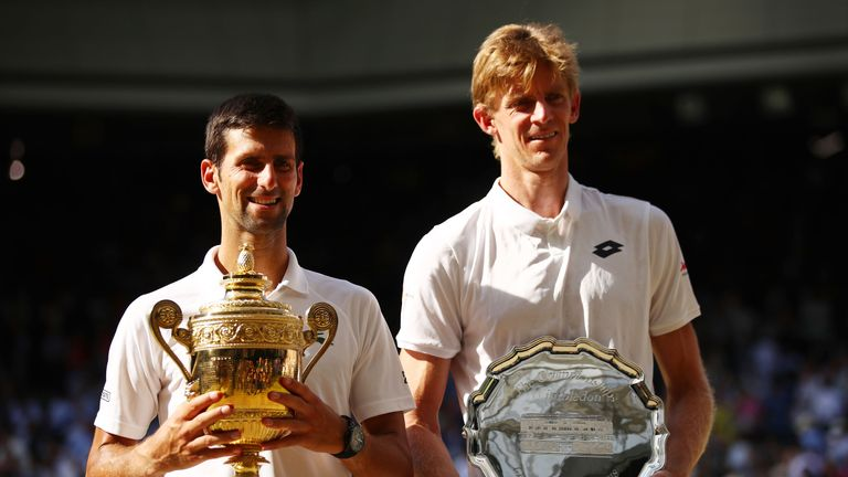 Novak Djokovic defeated Kevin Anderson to win Wimbledon in July