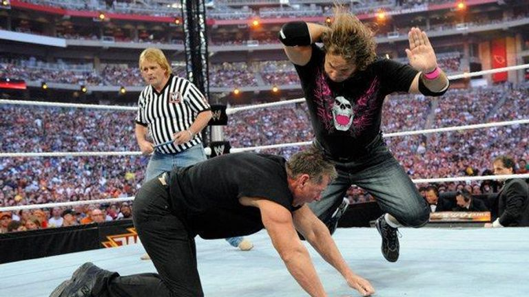 Bret Hart came back in 2010 with a match against Vince McMahon at Wrestlemania XXVI.