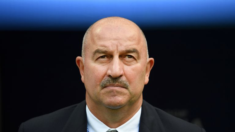 Stanislav Cherchesov helped lead Russia to a famous victory over Spain