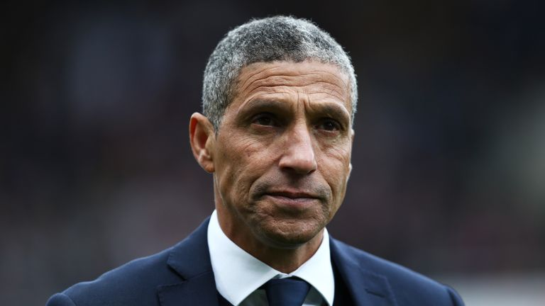 Hughton admits Brighton's away form is a cause for concern