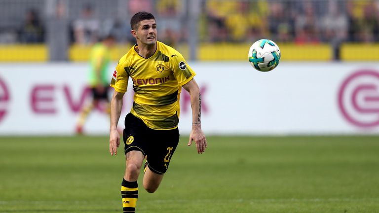 Christian Pulisic's Borussia Dortmund future is uncertain