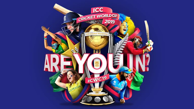 Are you in? Apply for tickets for next year's Cricket World Cup now!