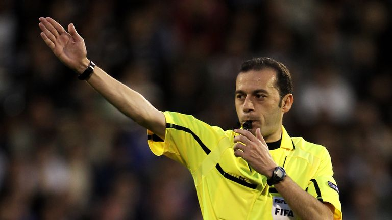 Cakir has been a referee since 2001