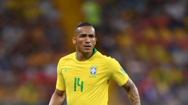 Danilo could be back for Brazil after a thigh issue