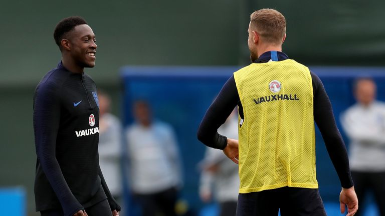 Danny Welbeck also took no part in training on Tuesday