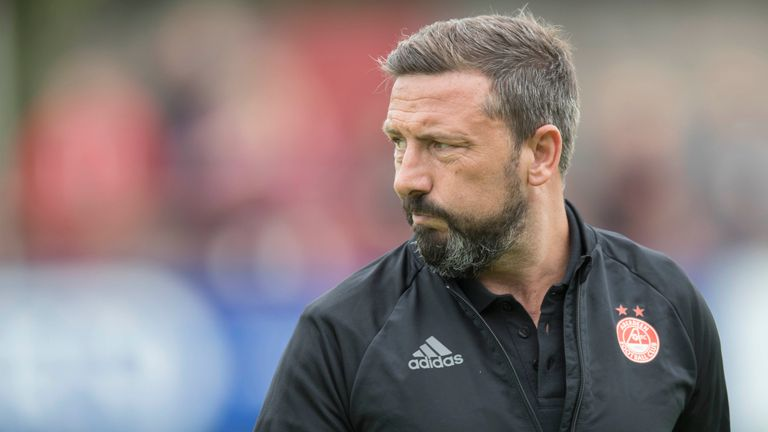 Derek McInnes' Aberdeen have nine points from six games