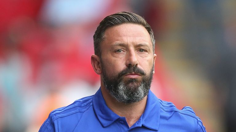 Derek McInnes has been impressed with the work Steven Gerrard has done since being appointed Rangers boss