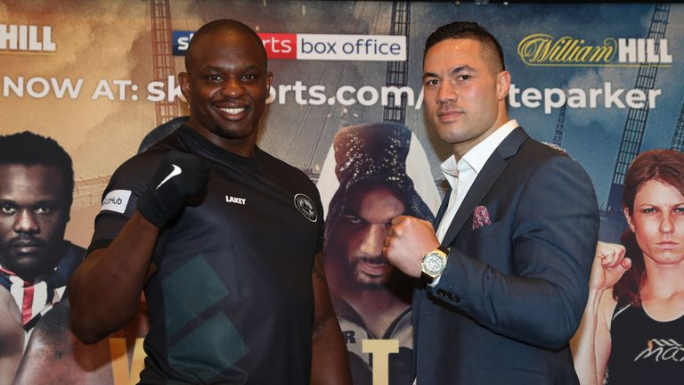 Dillian Whyte continues to be targeted by Parker