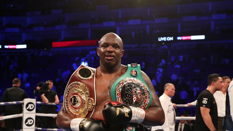 Dillian Whyte defended his WBC silver belt with a win over Joseph Parker