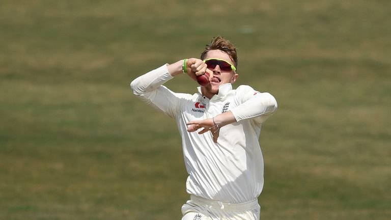 Bess was omitted from Somerset's side to face Worcestershire this week