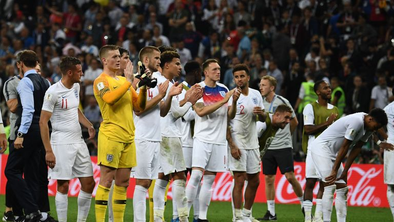 Jose Mourinho insists England have reason to be optimistic despite falling agonisingly short of the World Cup final