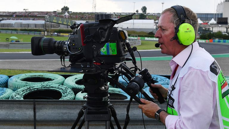 Martin tried out the role of cameraman on Friday in Budapest...