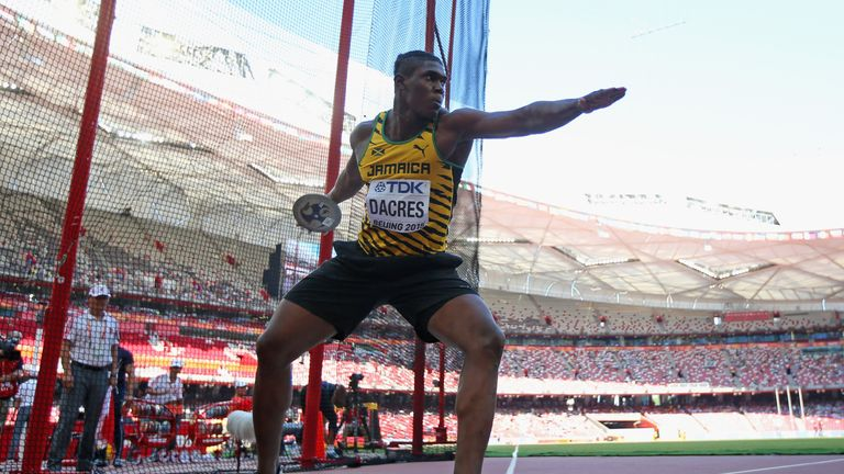 Fedrick Dacres won gold in the Commonwealth Games