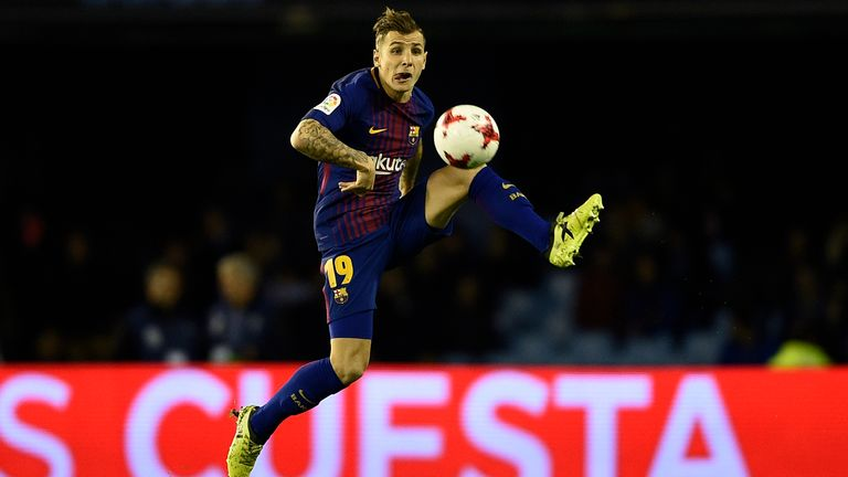 Lucas Digne is close to completing a move to Everton