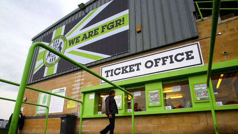Forest Green Rovers are the world's first vegan football club