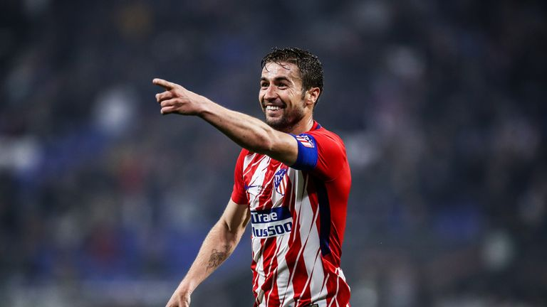 Gabi has been a mainstay in the midfield of Diego Simeone's Atletico side