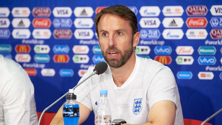 Gareth Southgate will take part in a press conference on Wednesday