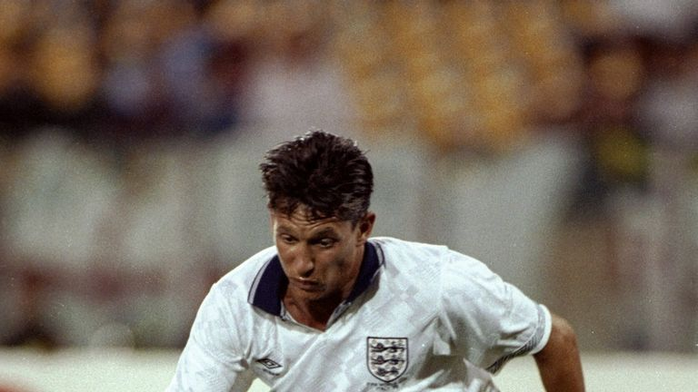 Gary Lineker and England contested the third-place match at Italia '90
