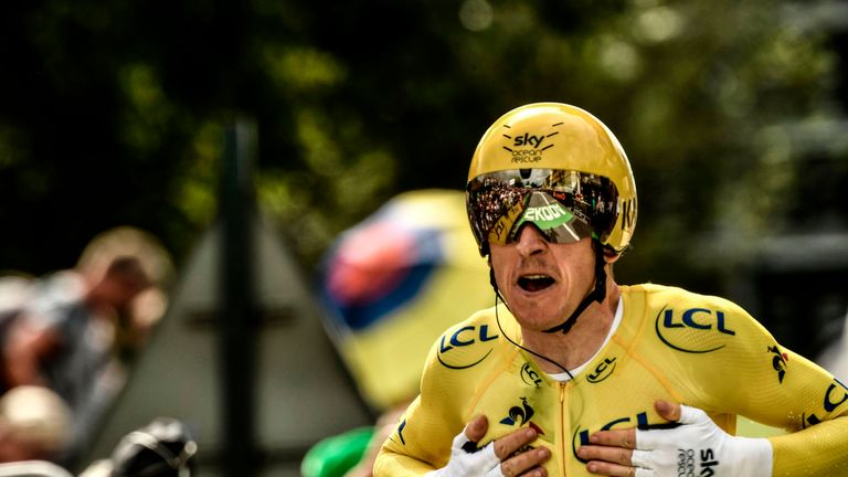 Thomas' victory means Team Sky have won six of the last seven editions of the Tour de France