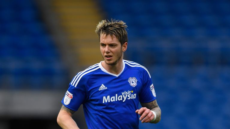 Greg Halford has announced he is leaving Cardiff City