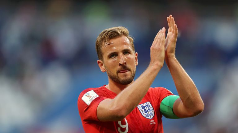 Harry Kane is the tournament's top scorer with six goals