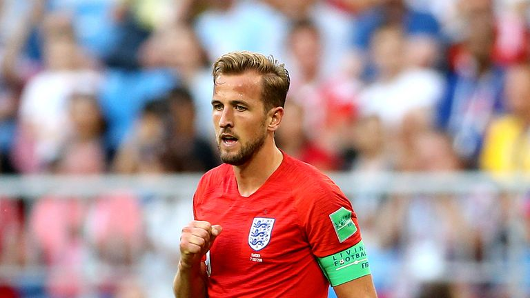 Harry Kane is the England skipper
