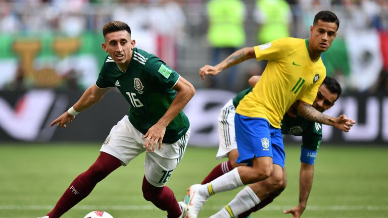 Juventus have joined the race for Porto midfielder Hector Herrera