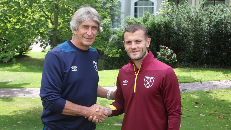 Jack Wilshere hopes to impress at West Ham as he looks to return to the international fold