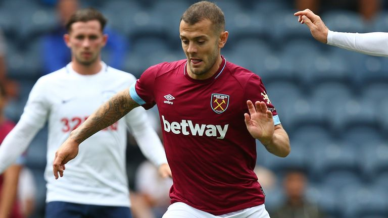 Jack Wilshere will be hoping to enjoy a new lease of life at West Ham