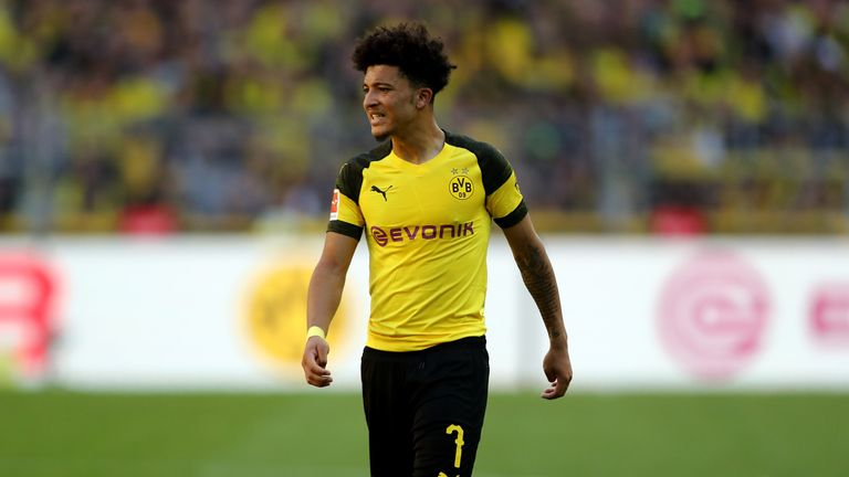 Sancho is leading the Bundesliga assists table with five in six league matches