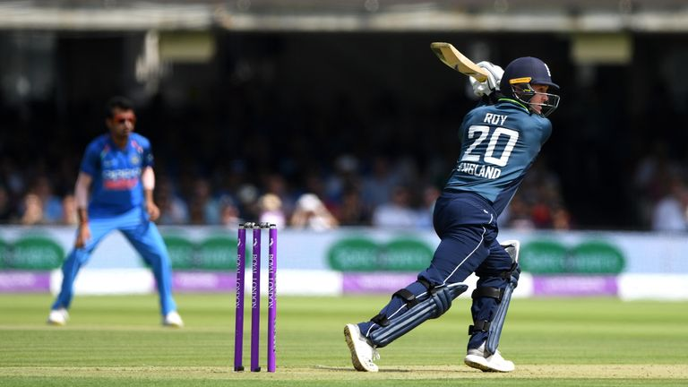Jason Roy is a key part of England's run-infested ODI batting line-up