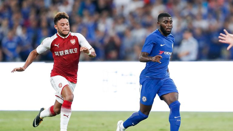 Jeremie Boga made just one competitive appearance for Chelsea