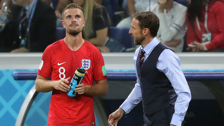 Henderson is a key player for Gareth Southgate
