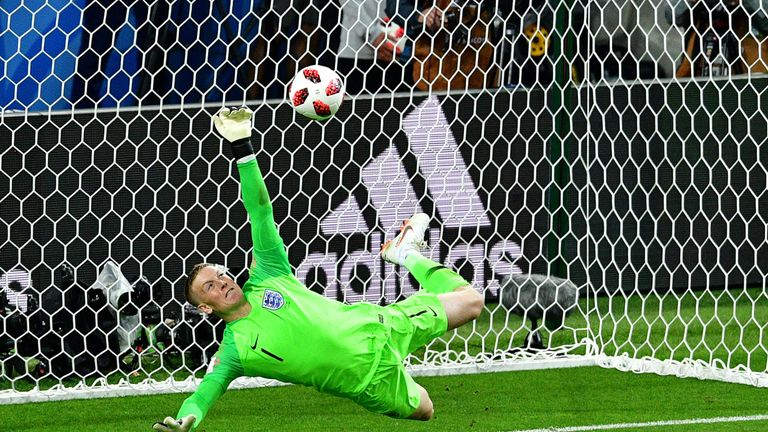 The 'Hand of Jord' inspired England to a first-ever World Cup shootout win when beating Colombia on penalties in the last 16