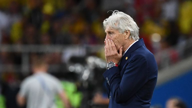 Colombia have been without a permanent boss since long-serving Jose Pekerman departed in September