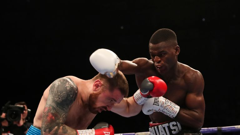 Joshua Buatsi added another knockout to his unbeaten record at The O2